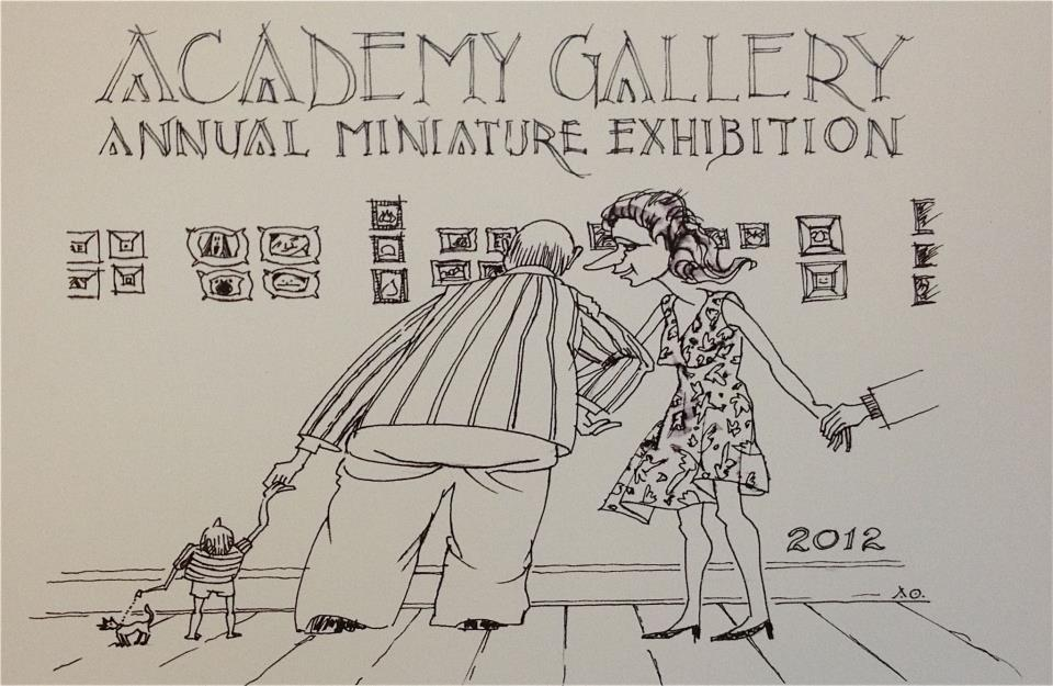 2012 Annual Miniature Exhibition Invitation