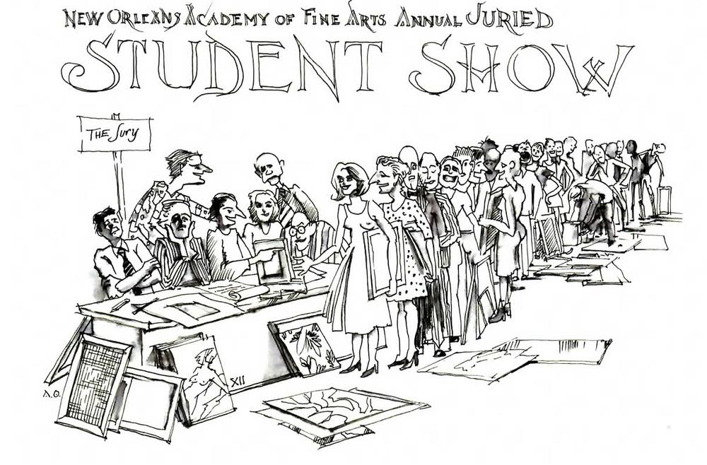 2012 Student Show Invitation