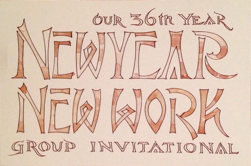 New Year, New Work Invitation