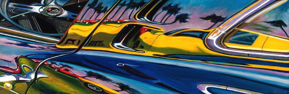 Cruisin' the Coast, 12 x 48""