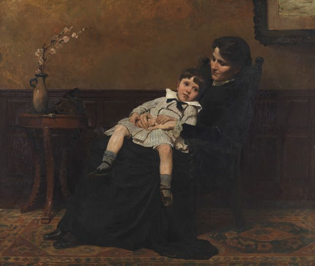 Cecilia Beaux, The last Days of Infancy, 1883