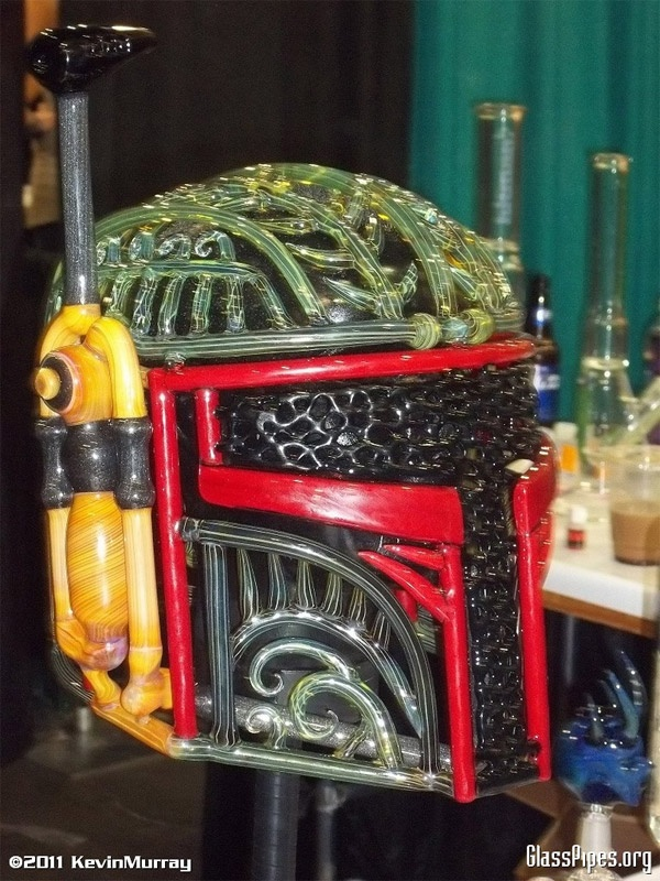 Get out of this world high with this Boba Fett helmet by Banjo