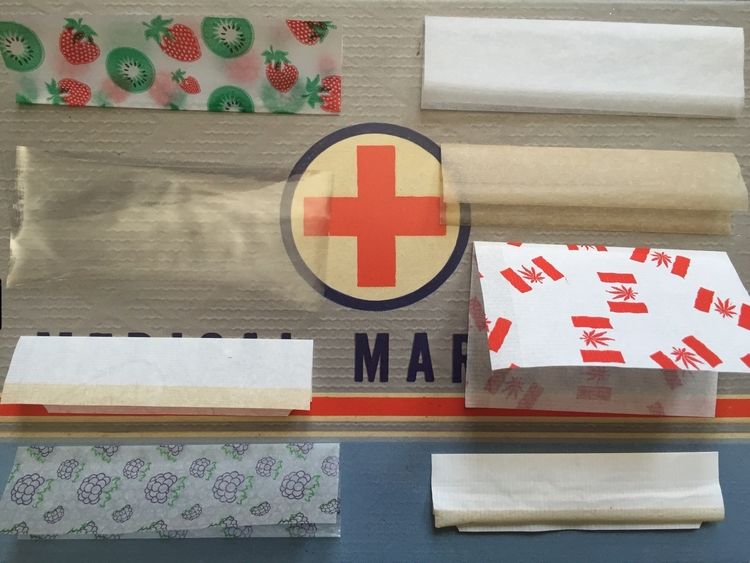 Here's just a few off the different types of rolling papers