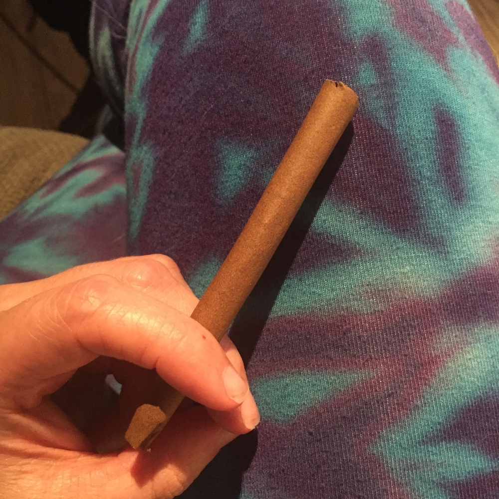 While blunts are not my fave, I do enjoy sharing the occasional one with friends