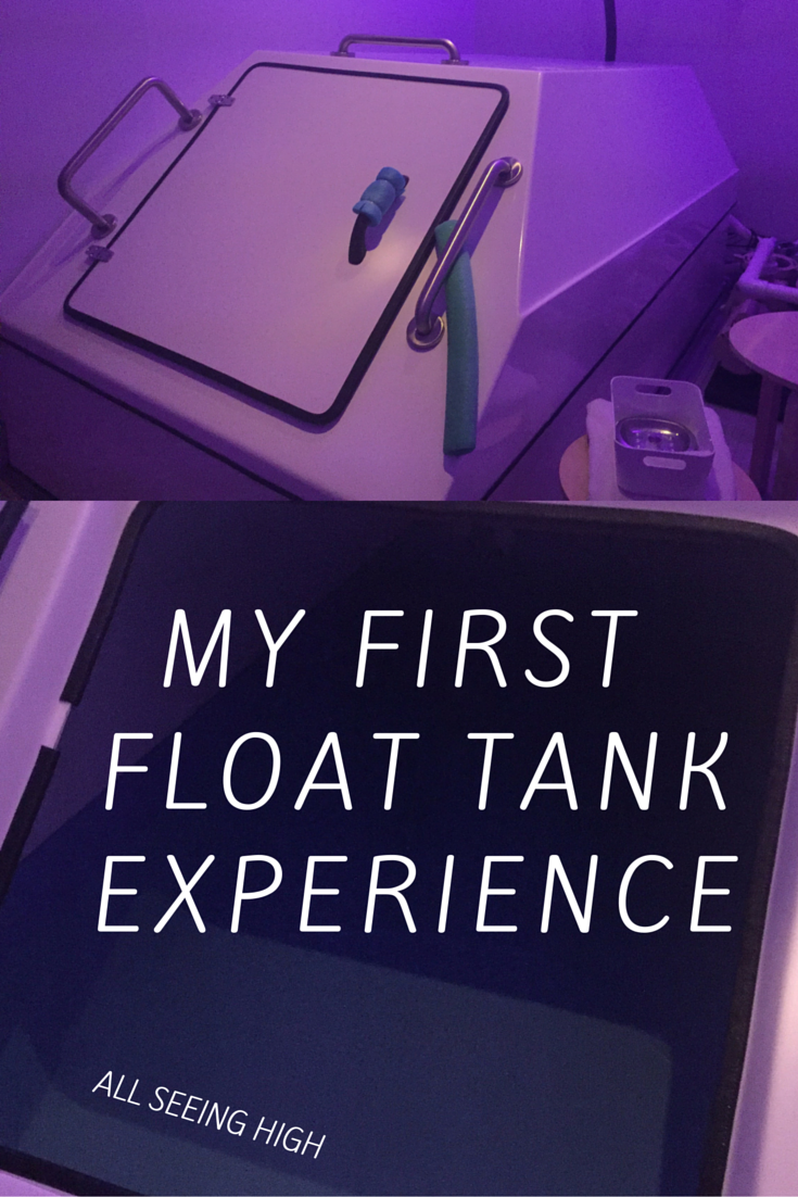 first time in a float tank