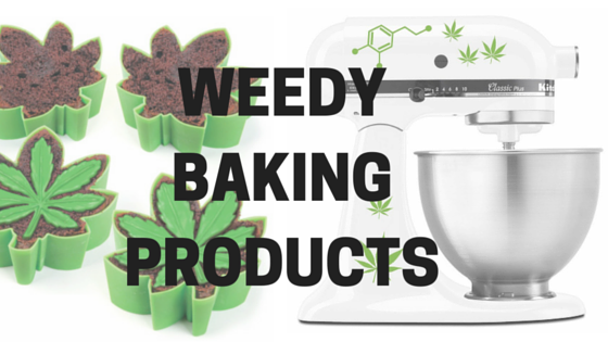 weed themed baking products for stoners