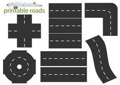 Printable Roads