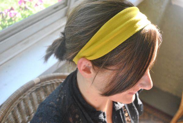 Free simple headband tutorial