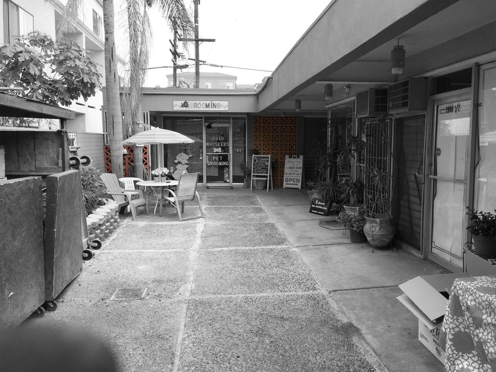 "Courtyard at ""El Comal"". Photo by  Miguel A. Reyes"