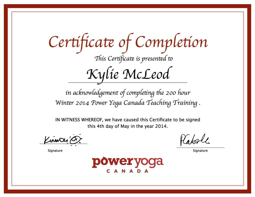 Kylie teaching certification.jpg