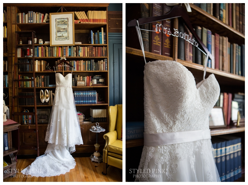Quite possibly my favorite dress shot, taken in a study at Twenty Belvidere, part of Jack's Barn, in Oxford, NJ.
