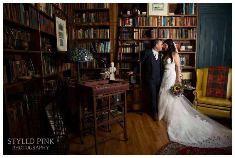 Bride and Groom portraits at Twenty Belvidere, before their Jack's Barn wedding in Oxford, NJ.