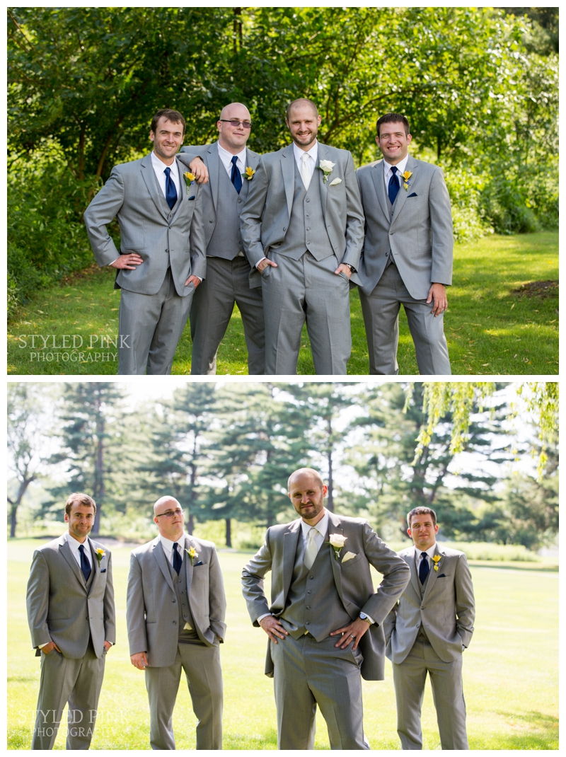 Paul and his groomsmen were hilariously entertaining.