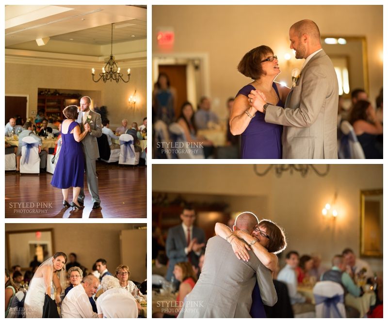 Paul and his mother then shared their dance. I love capturing the bride's reaction!
