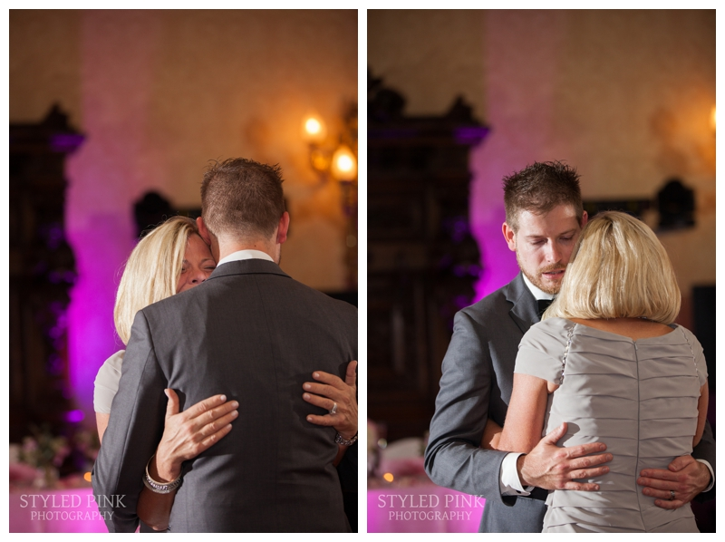 Tom and his mom had a tearjerker of a parent dance- so, so sweet.
