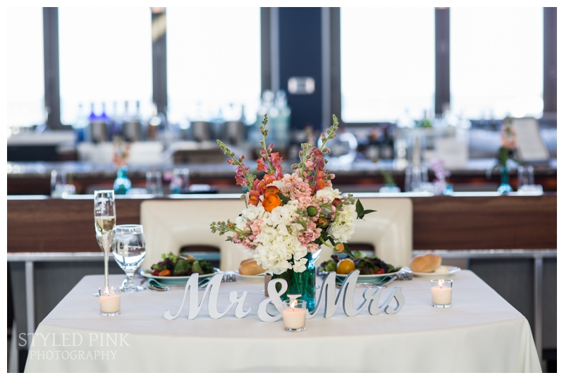 How adorable is their sweetheart table?