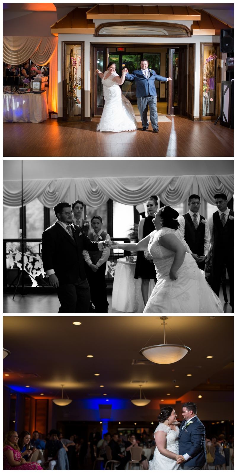 Bill and Carla danced their way into the reception at Auletto Caterers as Mr. and Mrs. Graff!