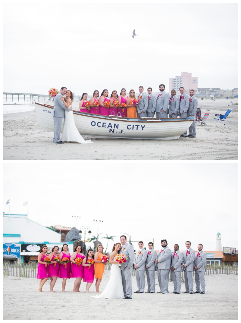 Jessica wanted an Ocean City rescue boat in her photographs, so I'm so glad we were able to find one!