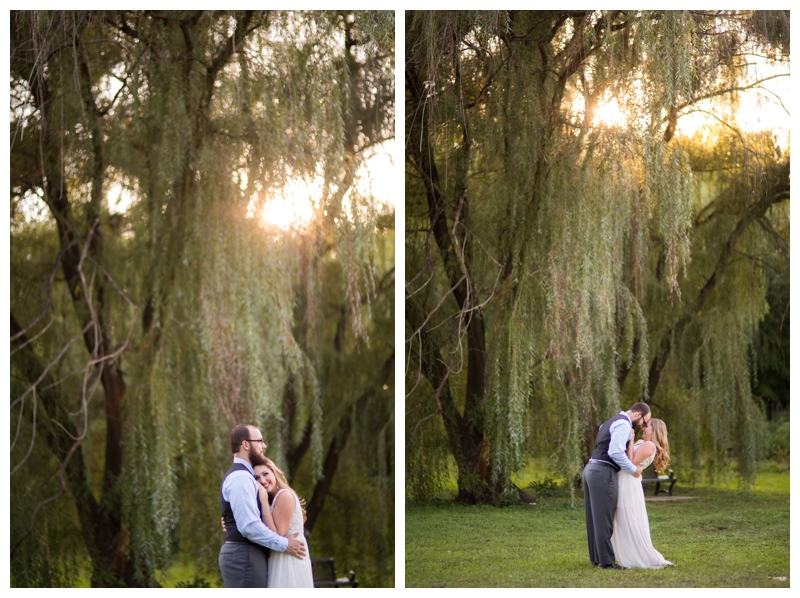 A willow tree + golden hour = ah-mazing.