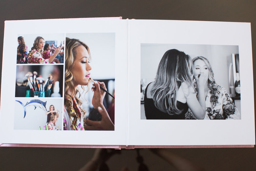 I love the thick pages printed on photographic paper.