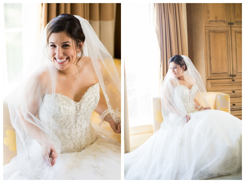 How gorgeous is this bride?