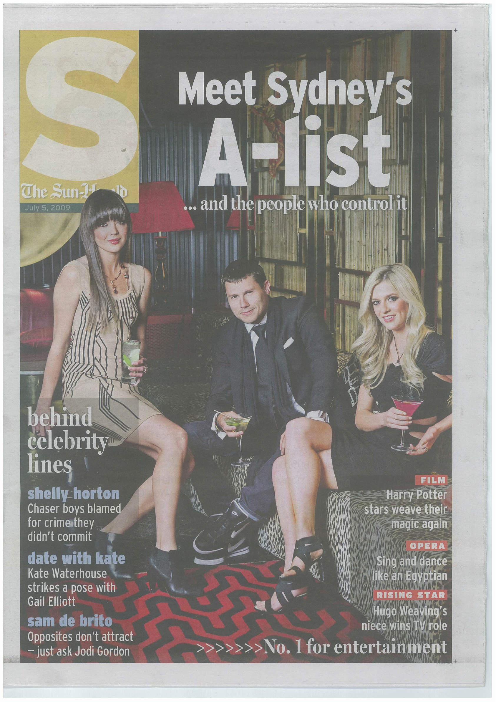 S Mag A List cover July 09-1.jpg
