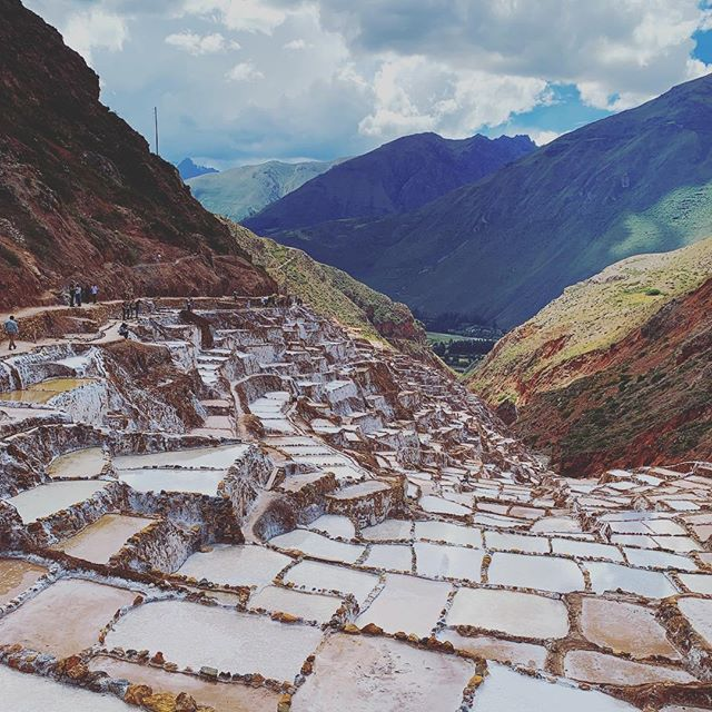 Took a few hours to visit the Maras Salt Mines. An amazing sight to see if you are ever in the Cusco region.