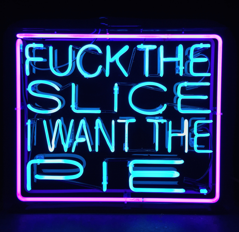 Social Messages Unfold in Patrick Martinez's Hip-Hop Inspired Neon Art, Konbini, September 2016