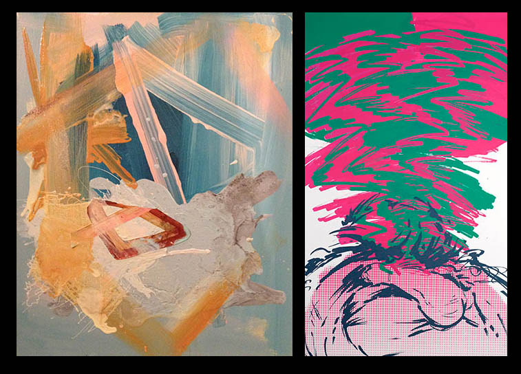 In Like a Lion, Out Like a Lamb features new works by Heather Greenway and Craig Cameron at Kibbee Gallery this Saturday night.