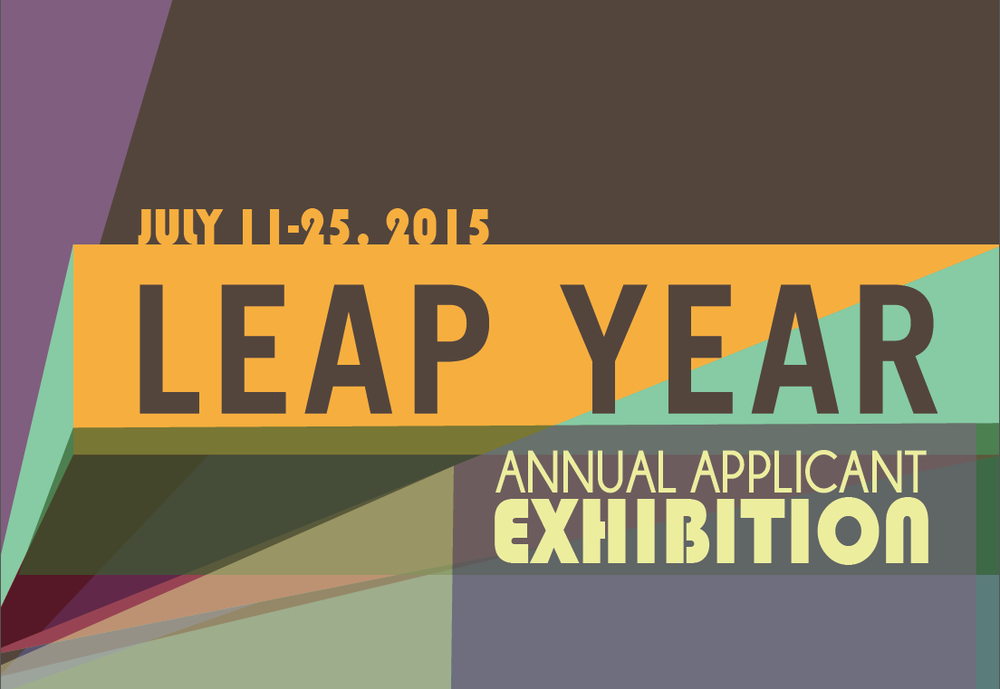 MINT Gallery's annual Leap Year Applicant Exhibition opens Saturday night.