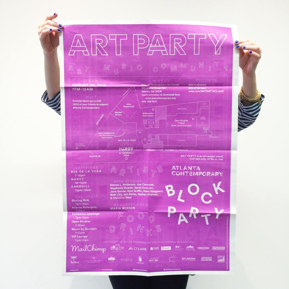 "The Atlanta Contemporary throws its annual block-party-style ""Art Party"" this Saturday night."