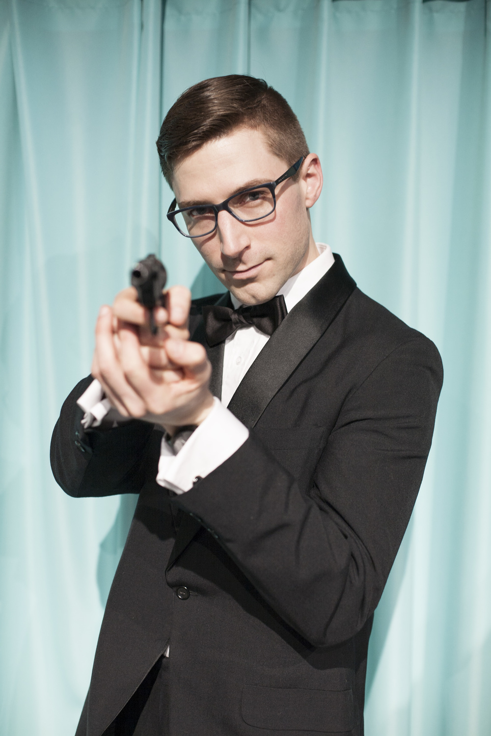 Justin Barisich as James Bond | Photo Credit: Tim Song