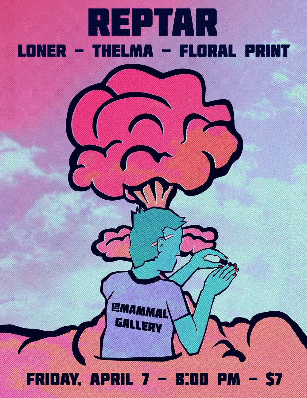 A hefty local lineup at The Mammal Gallery Friday night.