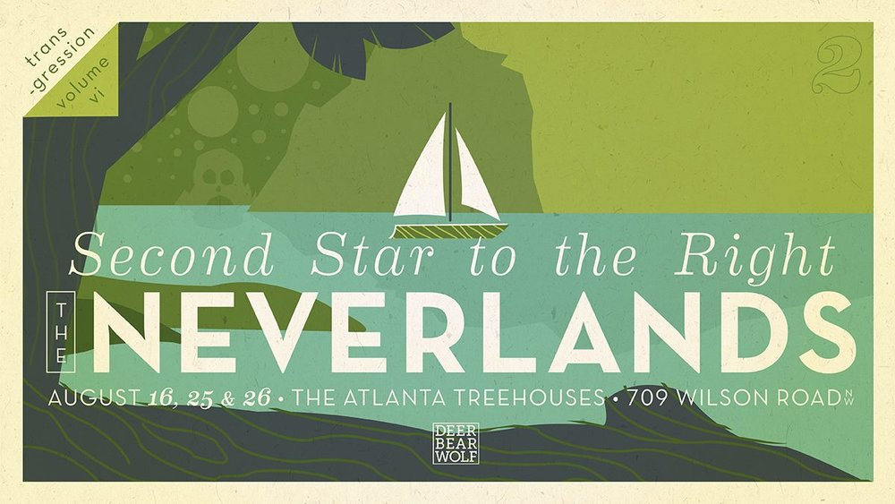 Transgression: Second Star to the Right returns with part 2 of 3, The Neverlands with a performance on Wednesday.