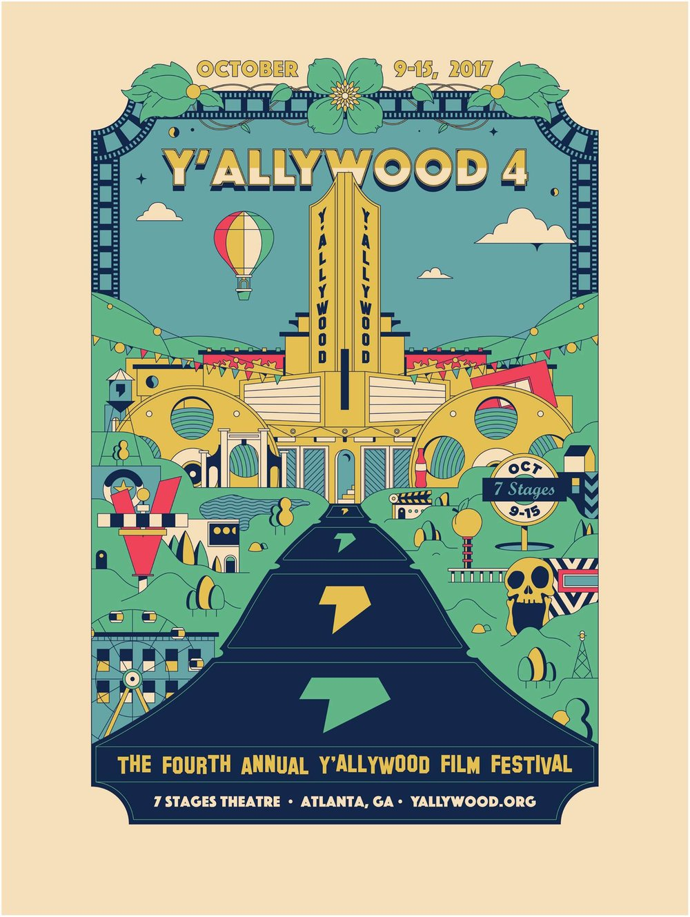 Y'allywood local film festival returns for its 4th year all week.