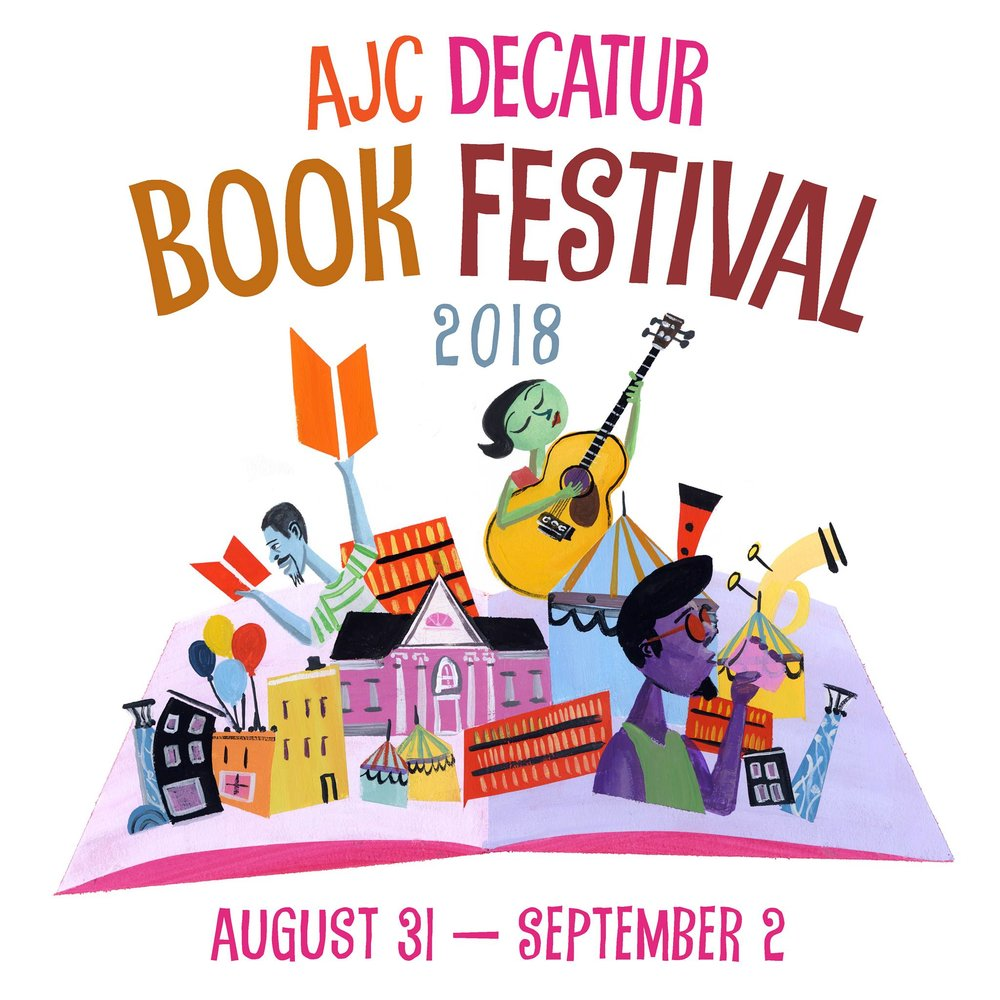 The Annual Decatur Book Festival is throughout this weekend