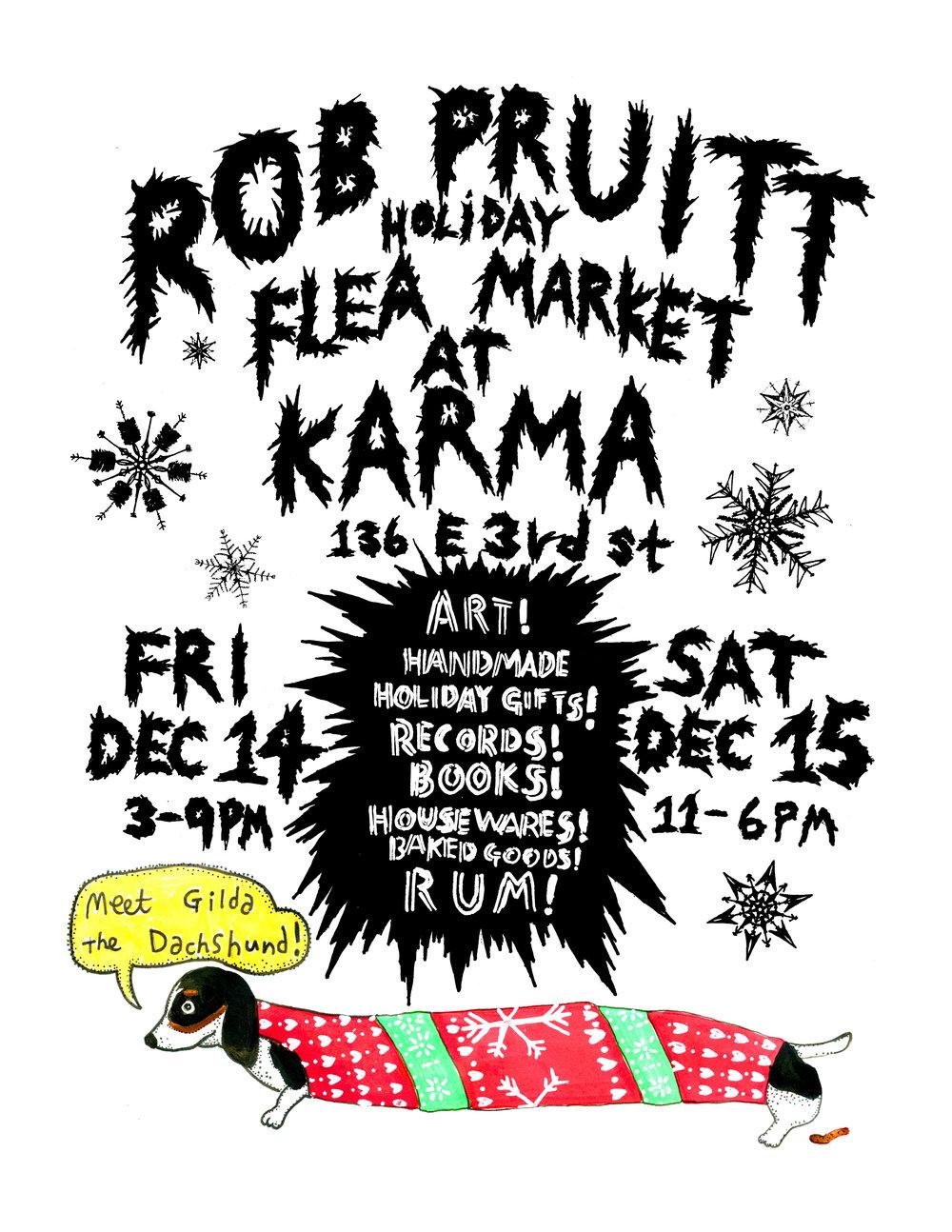 Rob Pruitt Flea Market 2018