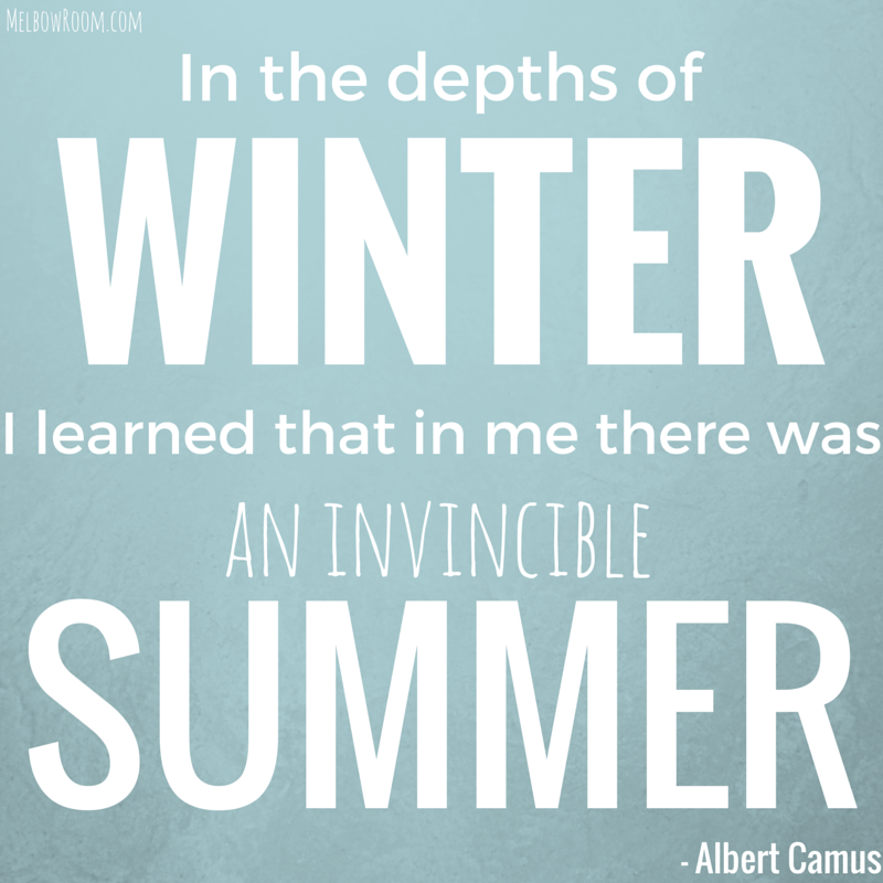 Made by melbowroom, quote from albert camus
