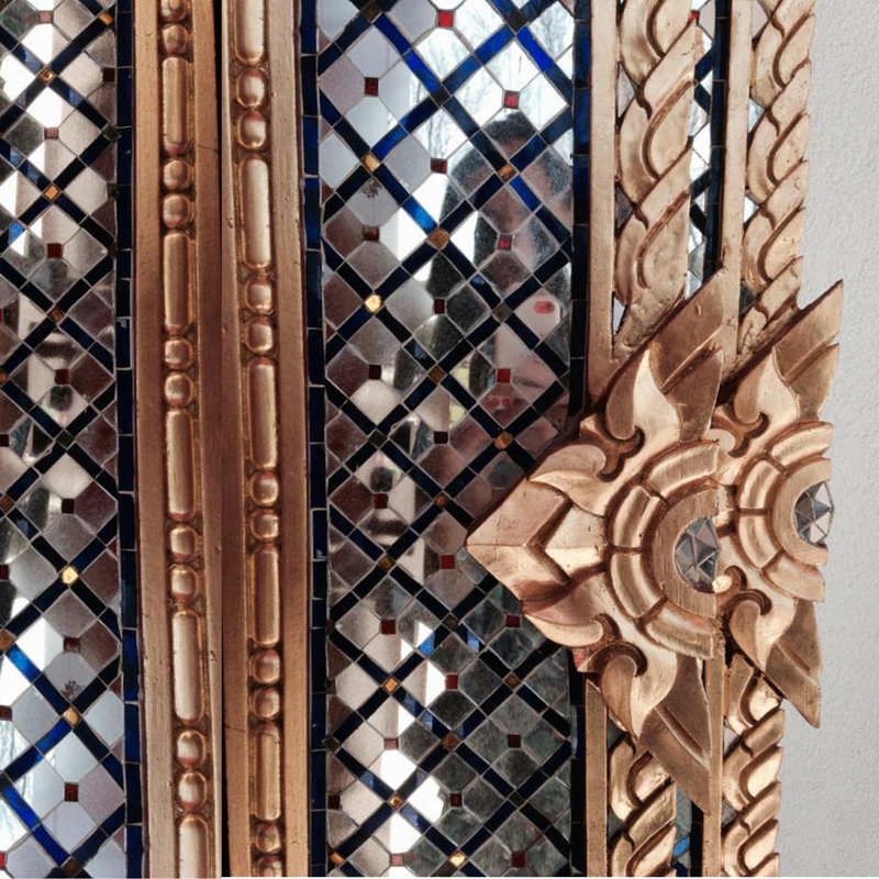 Temple door details