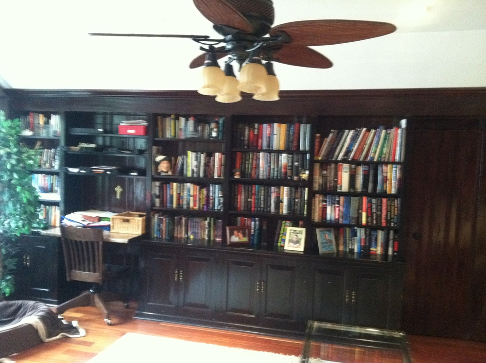 15 Lady's Library - Before - Bookcase.JPG