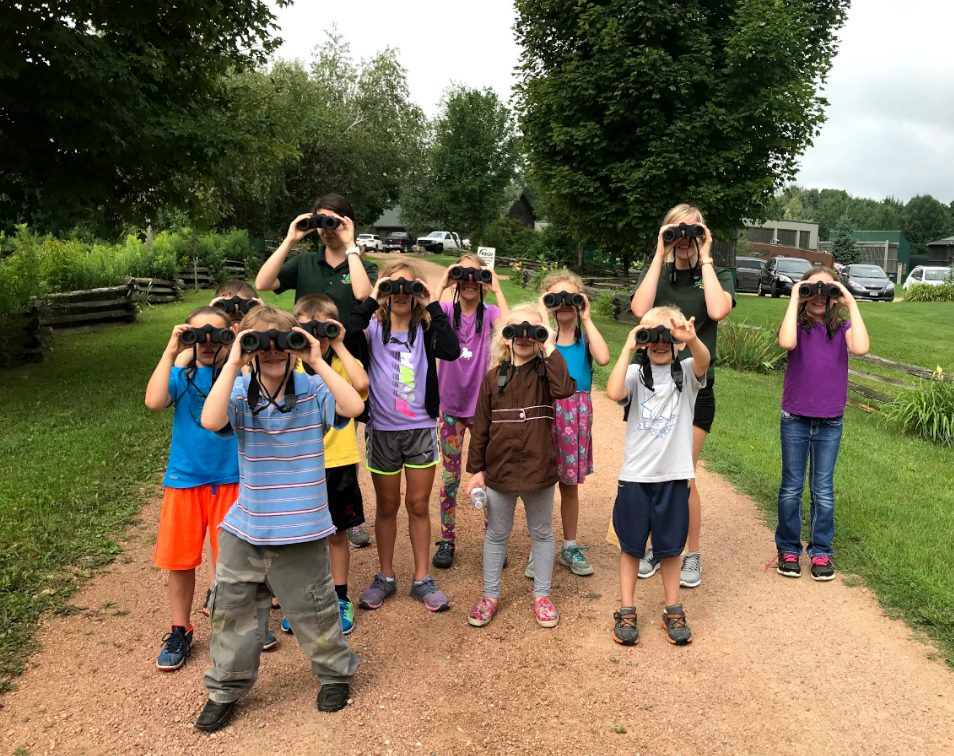Future ornithologists!
