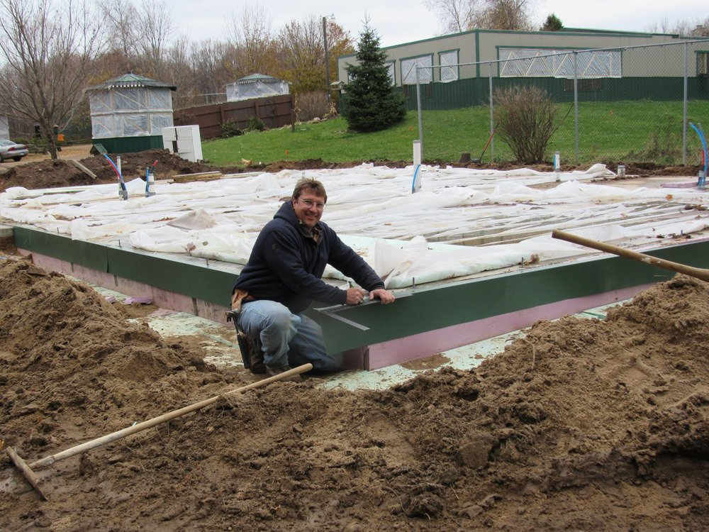 And the clinic gets a foundation! Jerry Reif at the helm.