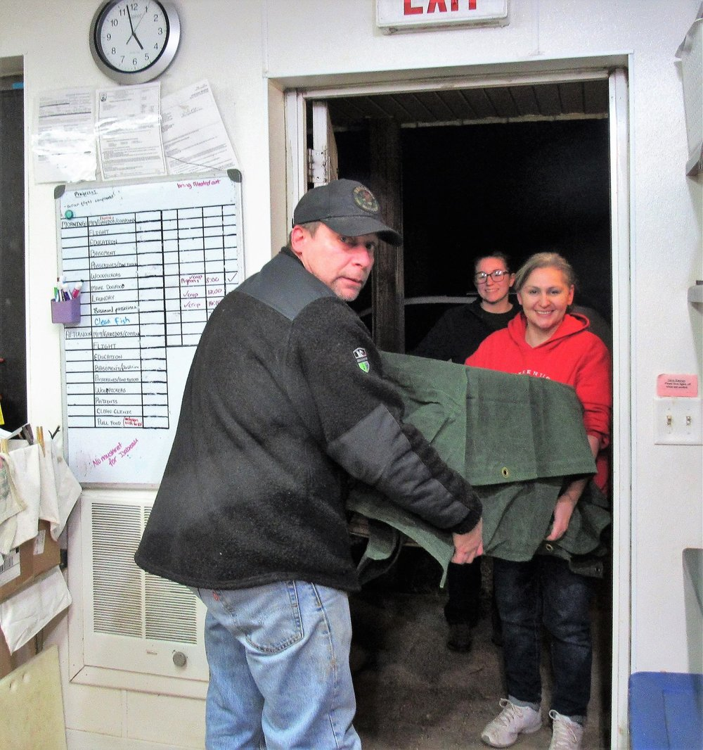 Cheri and Benny Bowman rescued and transported an adult Bald Eagle from Shawano this evening.