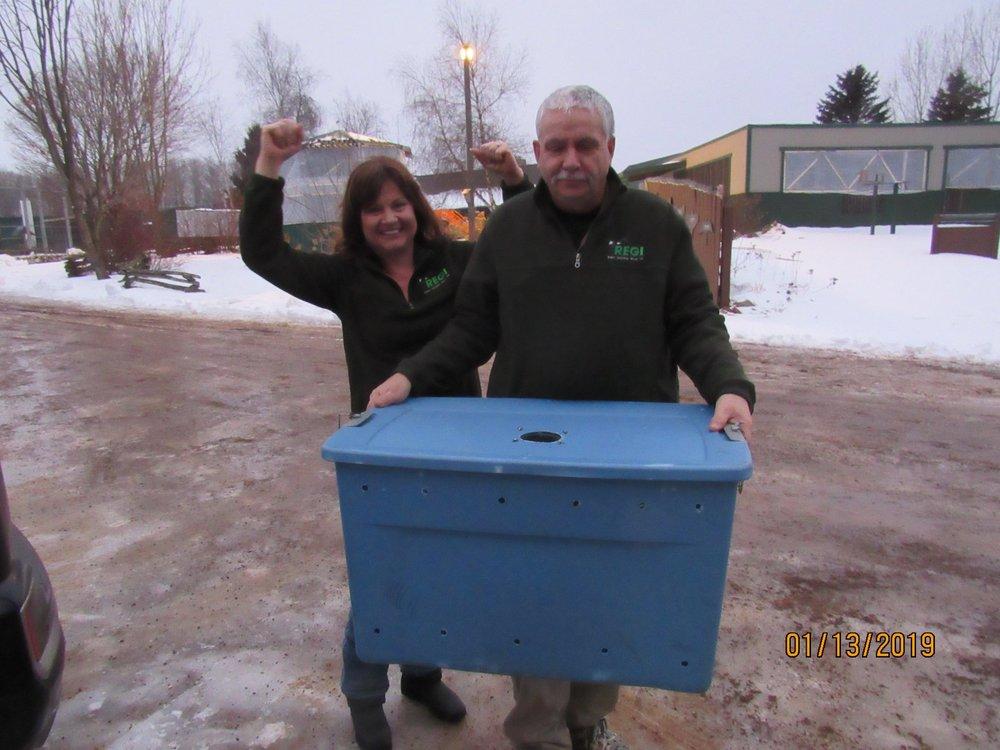 Bravo Kevin and Linda Kevin Grenzer!