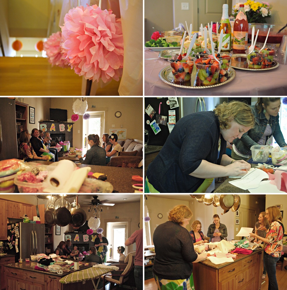Anna's baby shower back in Mar 2013.