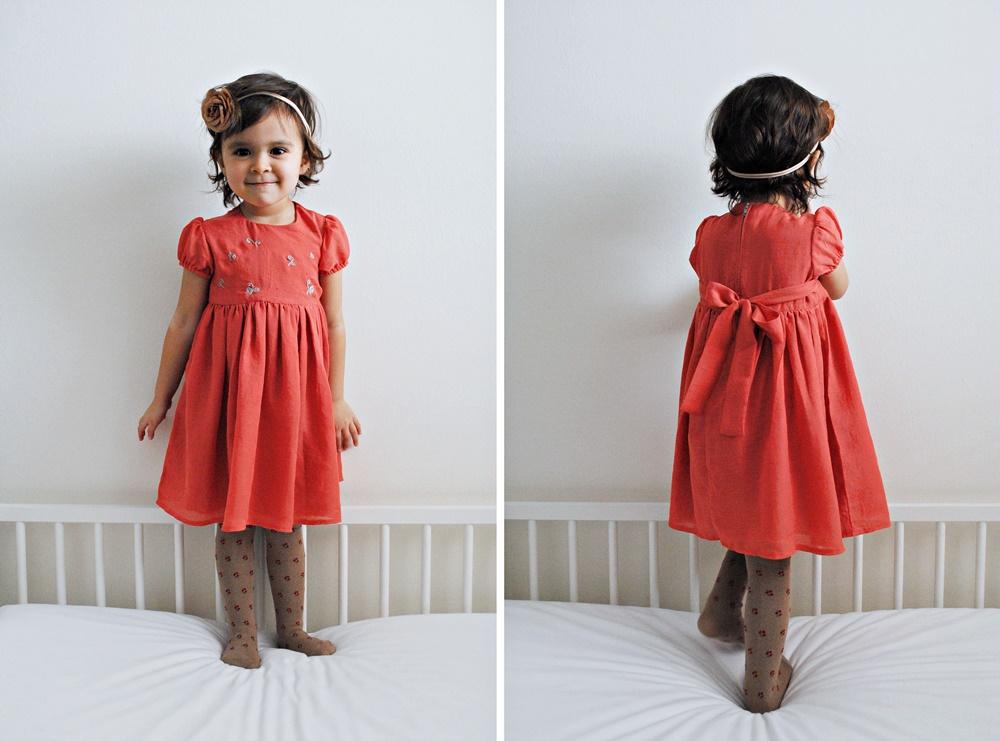 A Birthday Dress for A Three Year Old — sarah & missy