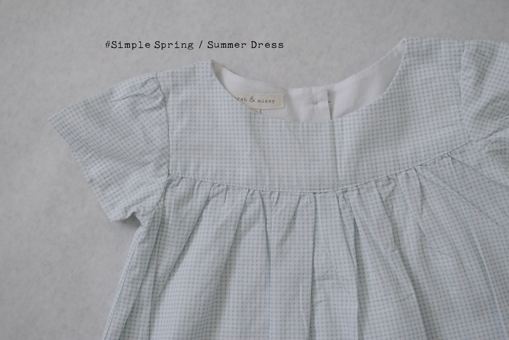 Simple Spring/Summer Dress