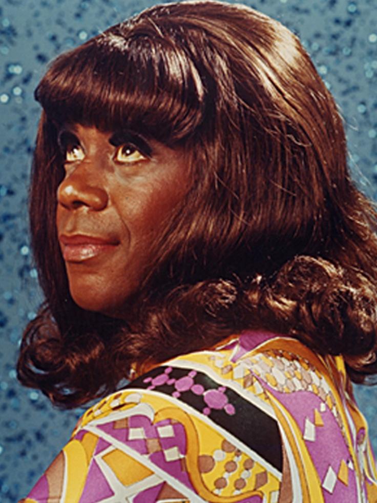 Flip Wilson acting as Geraldine Jones