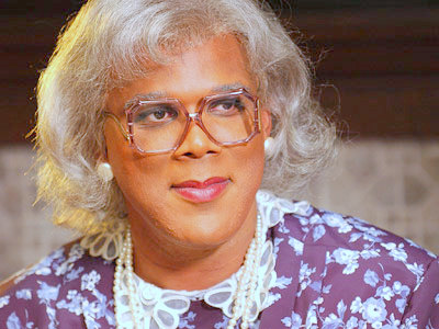 Tyler Perry acting as Mabel Madea Simmons