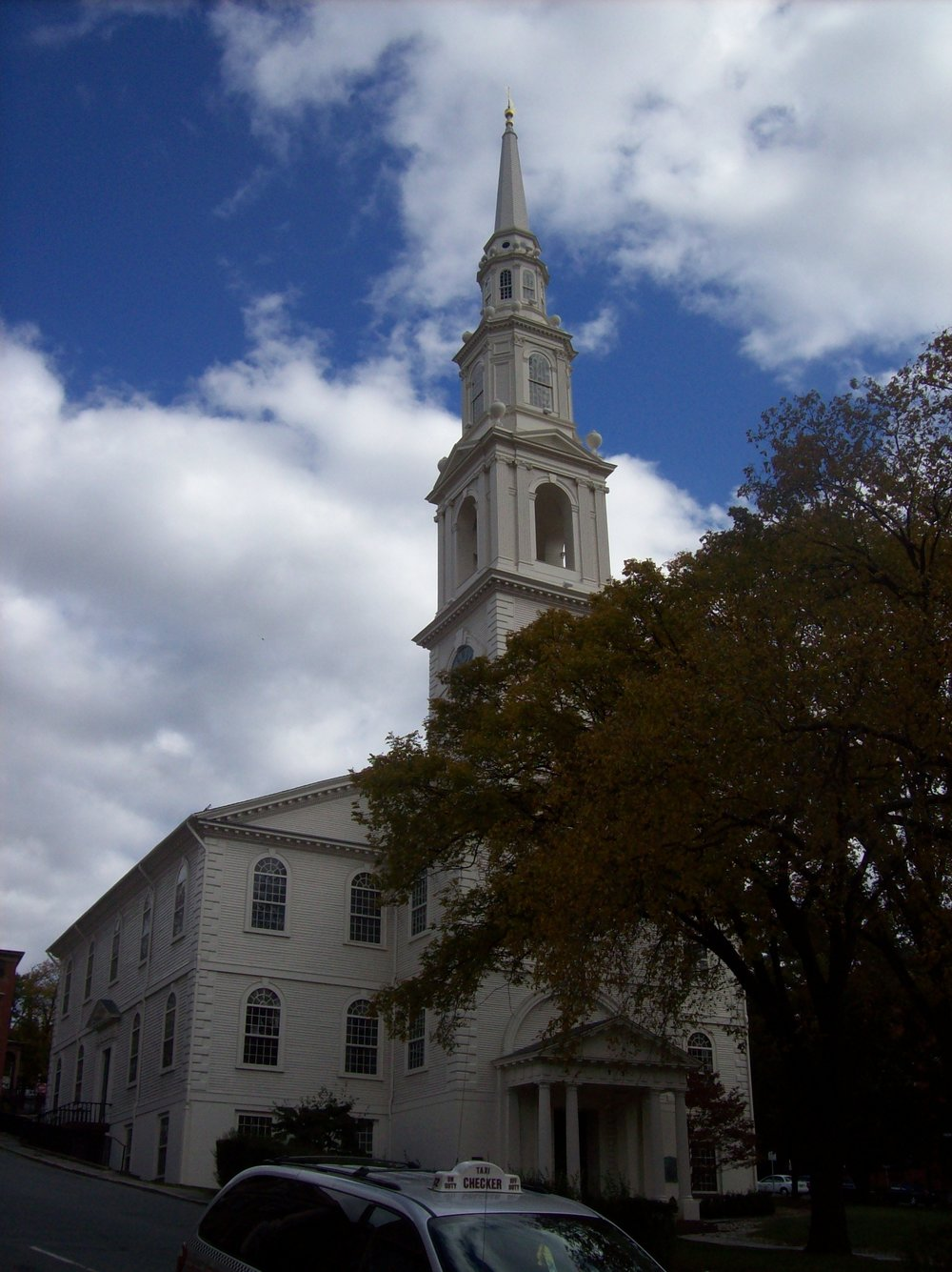 First Baptist Church- Providence Rhode Island